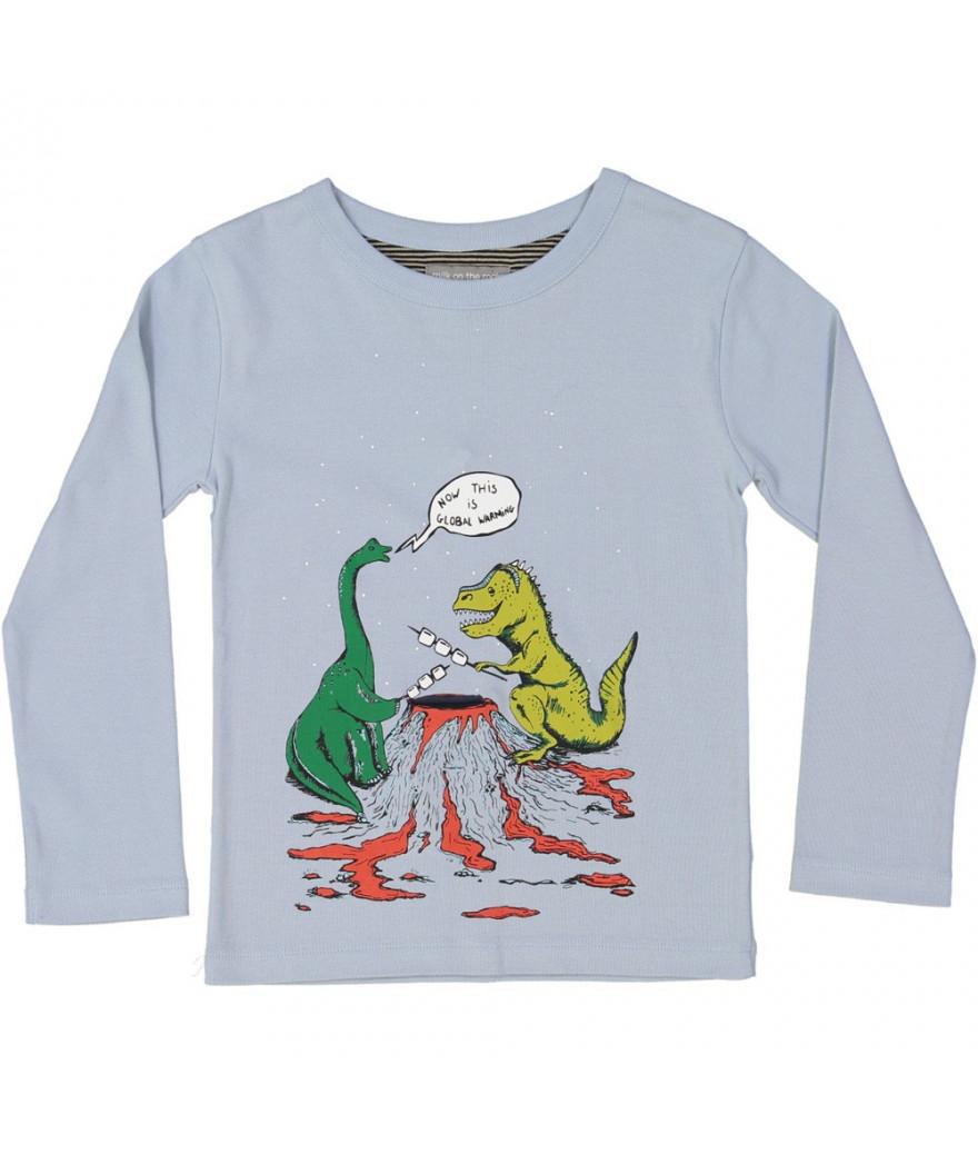 T-Shirt Dino Camp Steel