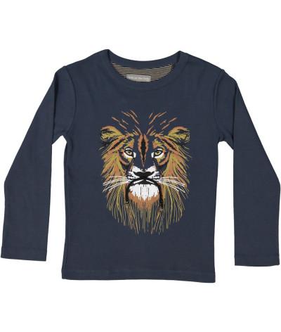 T-Shirt Vegan Lion Dusk