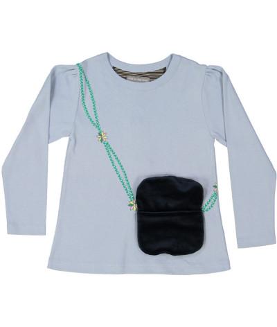 Girl T-Shirt Purse