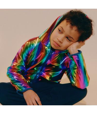 Hooded Jacket Rainbow
