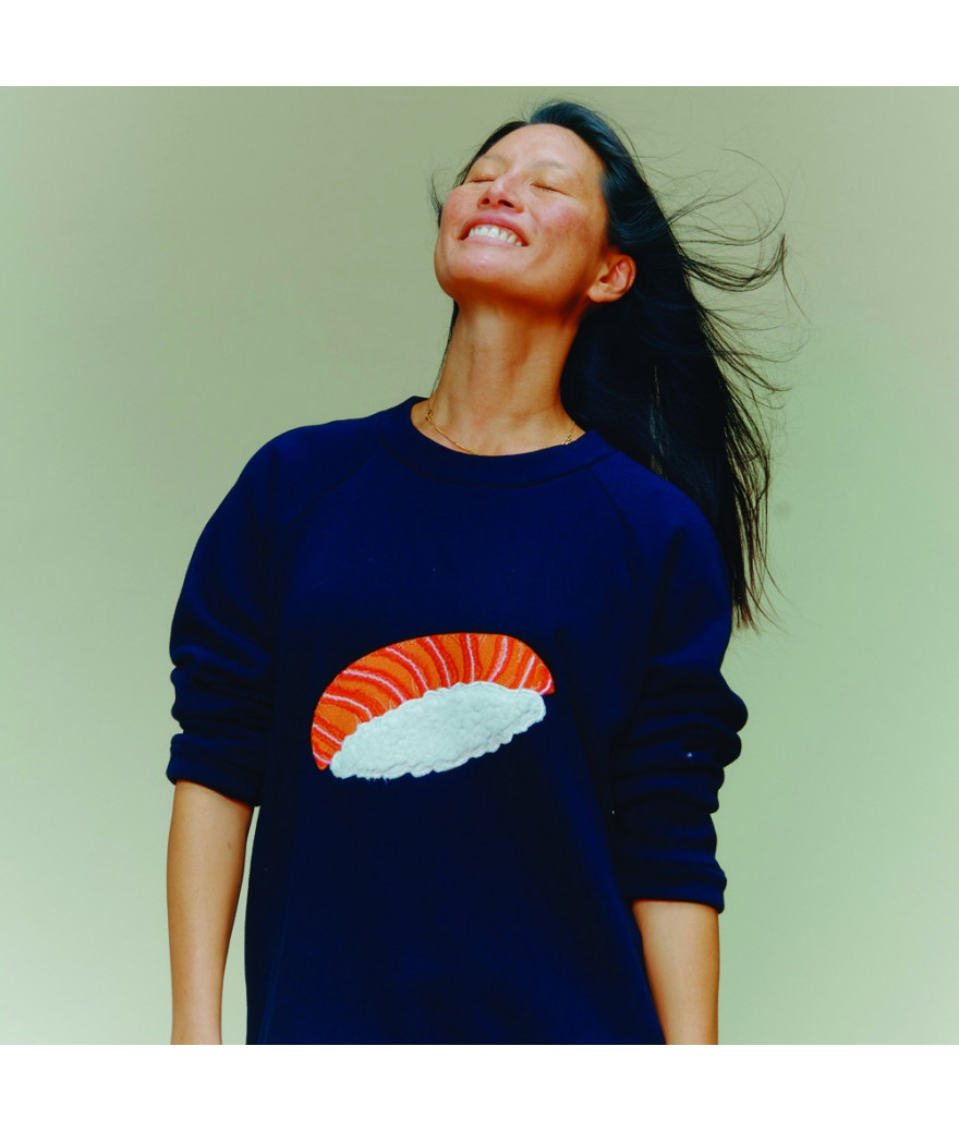 Sweat Shirt Femme Sushi