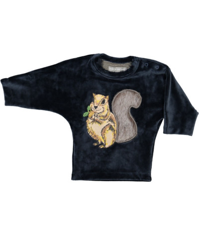 Baby Sweat Shirt Squirrel