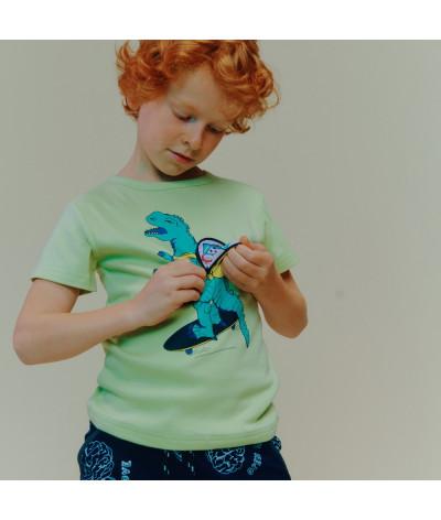 T-Shirt Dino Backpack Jade
