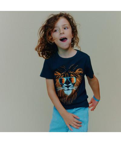 T-Shirt Groovy Lion
