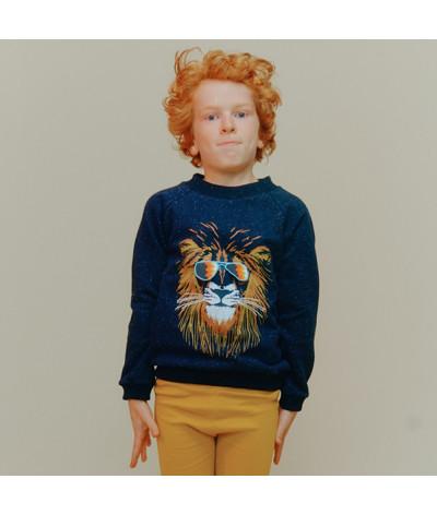 Sweat Shirt Groovy Lion