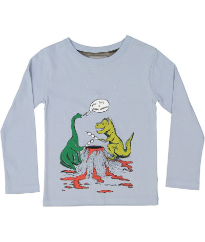 T-Shirt Dino Camp Steel