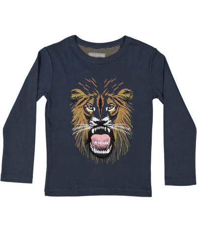 T-Shirt Vegan Lion Dusk