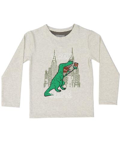 T-Shirt Dino Selfie
