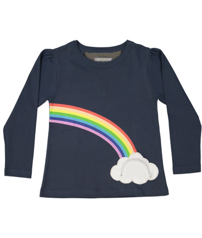 T-Shirt Fille Lucky Rainbow