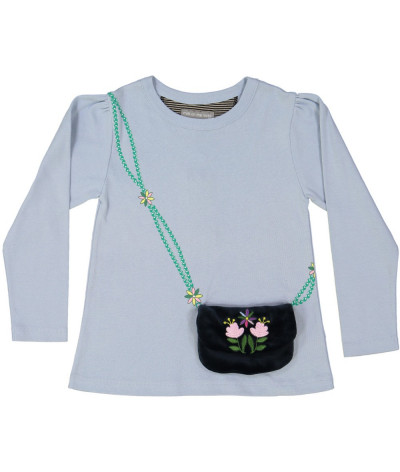 Girl T-Shirt Purse