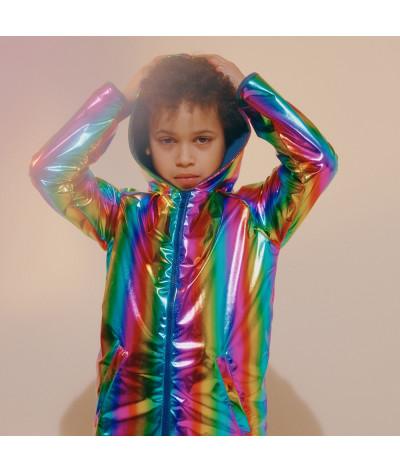 Veste à capuche Rainbow