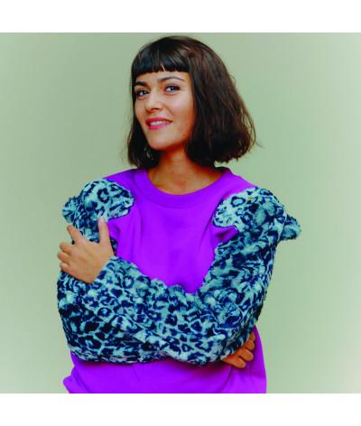 Woman Sweat Shirt Leopard