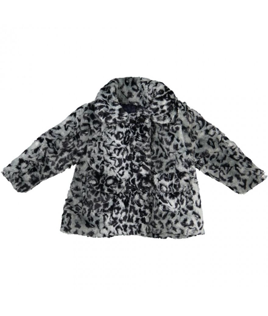 Manteau bébé Leopard