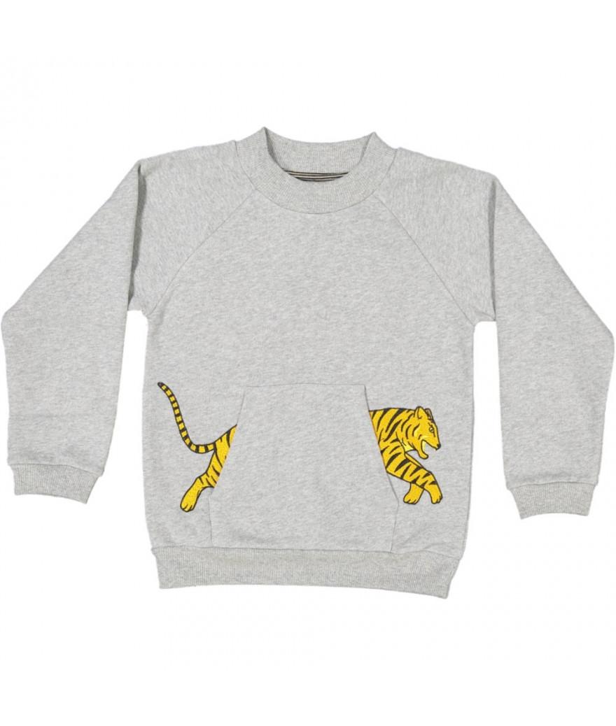 Sweat Shirt Tiger Pocket