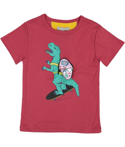 T-Shirt Dino Backpack Cassis