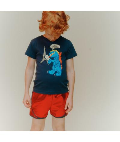 T-Shirt Paris Monster Onyx