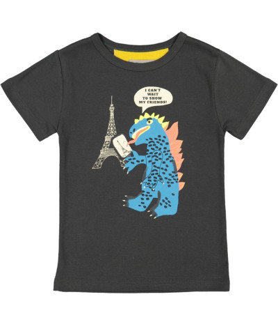 T-Shirt Paris Monster Onyx