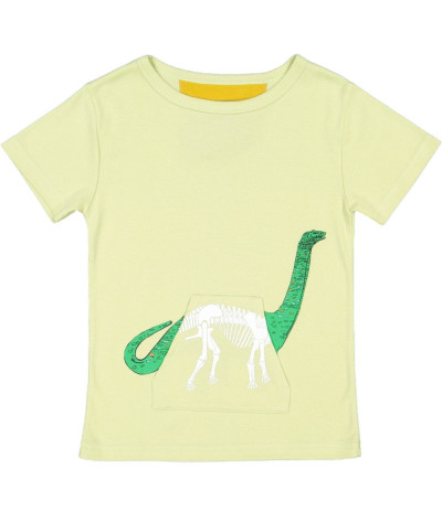 T-Shirt X-Ray Dino Jade