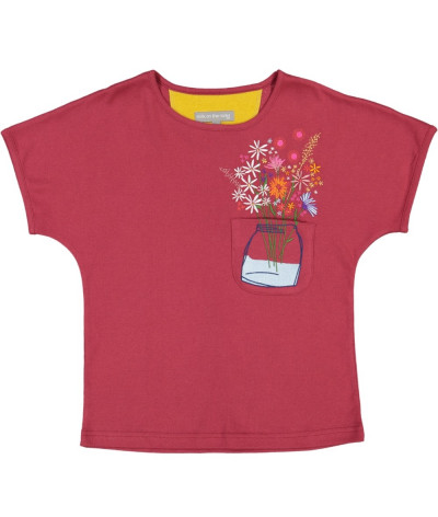 T-Shirt Fille Bouquet