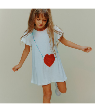 Robe Double Heart