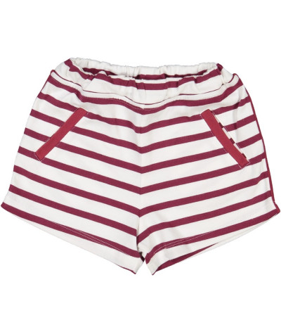 Short Wine stripes