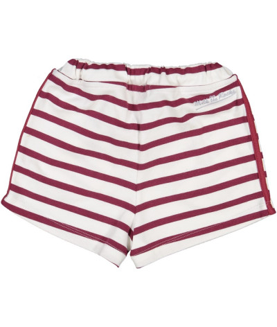 Short Wine stripes