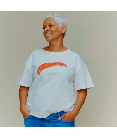 Woman T-Shirt Sushi