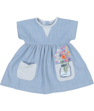 Baby dress Tiny Bouquet